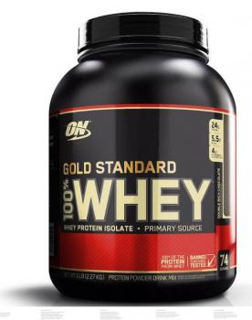 Whey Gold Standard 100 % Optimum Nutrition, 2.270 kg - Dose